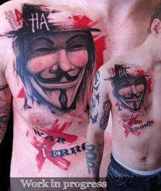 polka trash tattoo | Pecka (click to enlarge pic Pecka-tattoo1.jpg)