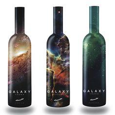 beautiful vodka packaging   Galaxy Vodka's Branding By Tony Wiley 2
