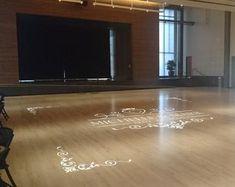 Wedding Dance Floor Decal Bride Groom Names & Initial Living Room Mirrors, Rugs In Living Room, Discount Vinyl Flooring, Dance Floor Wedding, Linoleum Flooring, Wood Flooring, Floor Decal, Chandelier Bedroom, Decal