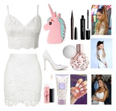 """""""Ariana grande 2"""" by martineeikefjord on Polyvore featuring MAC Cosmetics, Victoria's Secret, Marc Jacobs and Missguided"""