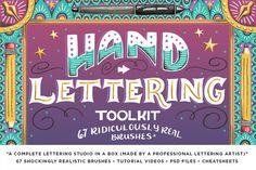 The Hand Lettering Mega Bundle by RetroSupply Co. on @creativemarket