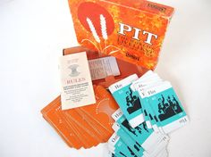 Vintage Pit Trading Game, 1964 - Complete with Instructions