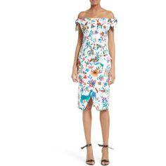 New offer for MILLY Folkloric Print Poplin Dress fashion online. [$395]?@@>>sladress shop<<