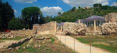 La Villa Romana del Casale, Piazza Armerina (Sicilien) Italien