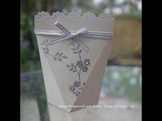 Mini Wedding Favour Box - YouTube