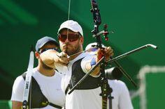 Day 1: Archery Men's Team - Jean-Charles Valladont of Team France