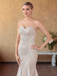 Casablanca Bridal Style 2321 Pixie - Fit and Flare Wedding Dress With Detachable Straps Pageant Dresses, Modest Dresses, Casablanca Bridal Gowns, Fit And Flare Wedding Dress, Communion Dresses, Prom Girl, Celebrity Dresses, Beautiful Gowns, Dream Dress