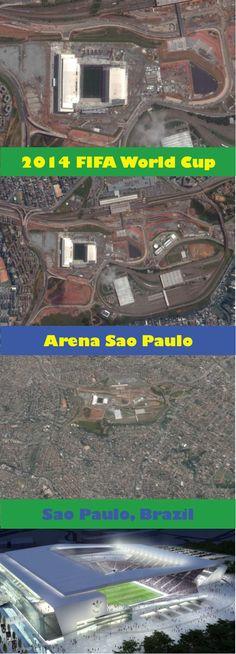FIFA World Cup Brazil starts ...seen from SkyWeb http://www.fifa.com/worldcup/destination/stadiums/stadium=5025136/index.html