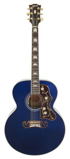Gibson Limited Edition SJ-200 Trans Blue