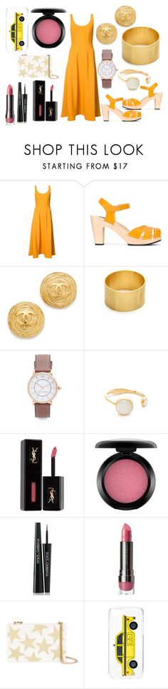 """going for a ride"" by hillarymaguire ❤ liked on Polyvore featuring TIBI, Swedish Hasbeens, Maya Magal, Marc Jacobs, Kate Spade, Yves Saint Laurent, MAC Cosmetics, Dolce&Gabbana, LORAC and STELLA McCARTNEY"
