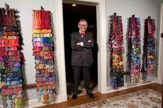 Gordon Gee, President of THE Ohio State University and his bow tie collection  @InSoOutSo
