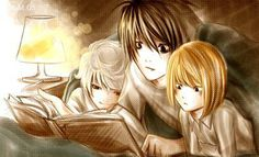 Lawliet, Near, and Mellow. Death Note