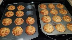 Date Muffins, Delicious Desserts, Yummy Food, Muffin Tin Recipes, Main Meals, Biscuits, Brunch, Food And Drink, Cooking Recipes