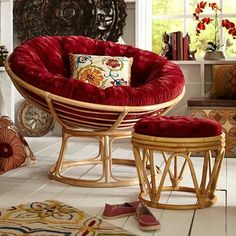 No Sew Papasan Chair Cover Diy Pinterest Papasan