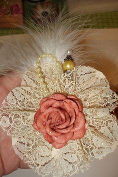 Vintage handmade Flower by jennings644 on Etsy
