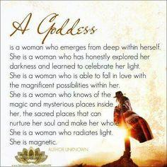 A Goddess