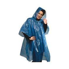 """w/ Full-color Custom Logo Insert This """" take-it-anywhere"""" poncho is perfect for events, picnics, hiking, camping, boating,… Waterproof Poncho, Rain Poncho, Ny Usa, Rain Wear, Picnics, Boating, One Color, One Size Fits All, Hiking"""