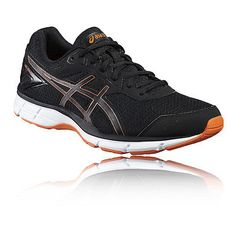 526ec49170d Asics Gel-Galaxy 9 Mens Black Cushioned Running Sports Shoes Trainers Pumps