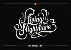 Typography by No Entry Design, via Behance