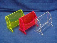 Plexiglas Business card holders : Laser cut Bus Card Holders