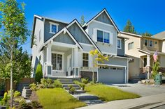 Beautiful mature trees and gorgeous natural trails surround this wonderful new community in Snohomish, featuring custom residences, designed and built by RM Homes, who partnered with premier siding…