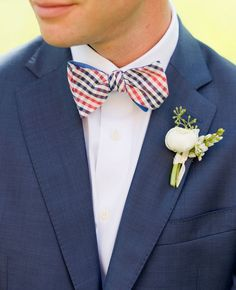 Preppy looks for the groom!