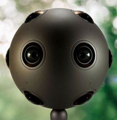 The Nokia Ozo is a ball-shaped, virtual reality camera