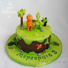 Dinosaur Birthday Cakes, Claire, Party, Desserts, Animal, Food, Cold Porcelain, Tailgate Desserts, Deserts