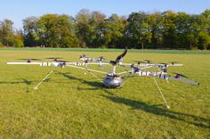 Volocopter: Sixteen propellers and one seat belt (pictures)