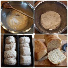 Buttermilch-Toastbrot (Synchronbacken)