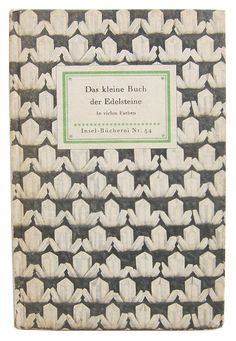 A Little Book of gemstones from the German series, Insel Bucherei series