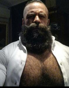 Bad Beards, Great Beards, Long Beards, Hairy Men, Bearded Men, Muscle Bear Men, Male Pattern Baldness, Beard Love, Daddy Bear