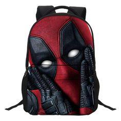 09c5230c5327 Deadpool Backpacks New Marvel 3D Print Deadpool 2 Backpack