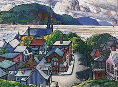 View Bagotville By Marc-Aurèle Fortin; casein on board; 91 by 122 cm. Access more artwork lots and estimated & realized auction prices on MutualArt. Canadian Painters, Canadian Artists, Montreal Museums, Nature Sketch, Soul Art, Watercolor Landscape, Watercolor Ideas, City Art, Museum Of Fine Arts