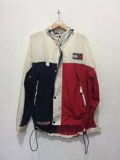 Vintage Tommy Hilfiger Sailing Gear Jacket Colour by TheKaratz