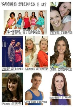Which stepper r u ? Please comment and say what one u r . U might be a prank stepper like ella or a zen stepper like phoebe what ever one u r your all steppers
