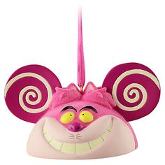 Limited Edition Ear Hat Cheshire Cat Ornament