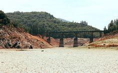 The lost bridge / Somewhere between Oregon & California.