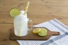 Lemon icecream and Sprite float - Float de Sprite con helado de limón