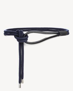 Shop the Tess Rope Belt - Soft rope belt with metal tip ends to style over your favorite dresses and pants - Leather Belts, Leather Jewelry, Cow Leather, Leather Craft, Diy Belts, Ceinture Large, Diy Jewelry Unique, Obi Belt, Fashion Belts