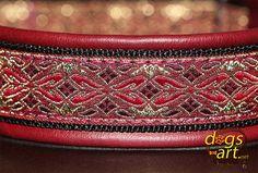 dogsart SHANOA Martingale Leather Collar  by dogsartcollars, $32.00
