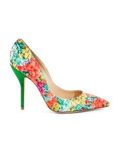 Floral High Heel Pumps by Paul Andrew | Hudson's Bay