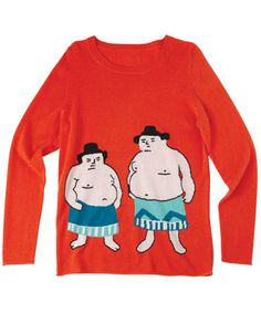 crewneck intarsia sweater dachshund – Virginia Johnson