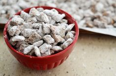 muddy buddies. perfect snack for the whole family