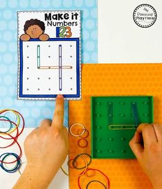Number Formation Activities - Preschool Math Unit#preschool #planningplaytime #preschoolmath Numbers Preschool, Math Numbers, Preschool Lessons, Counting Activities, Preschool Activities, Preschool Worksheets, Math Games, Montessori Math, Montessori Elementary