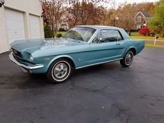 eBay: 1966 Ford Mustang BUCKET SEATS Xbox1966 Ford Mustang Fully Restored with only 70k original miles Numbers Matchi #classiccars #cars