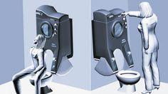 GESTÃO  ESTRATÉGICA  DA  PRODUÇÃO  E  MARKETING: Máquina de lavar integrada ao vaso sanitário econo...