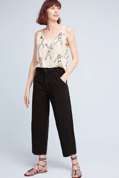 Slide View: 1: Citizens of Humanity Kendall Wide-Leg Jeans