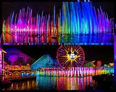"Disney California Adventure ""World of Color"""
