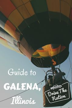 Heading to the Midwest? Check out Galena, Illinois.